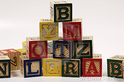 Wooden Block Pyramid
