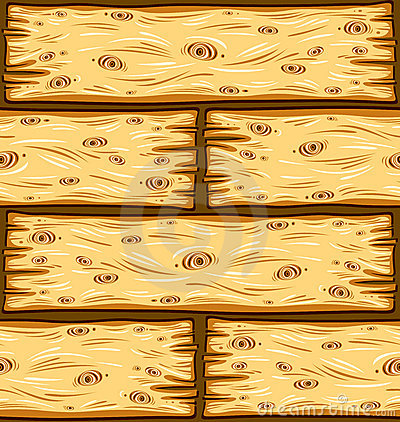 Wooden boards seamless pattern.