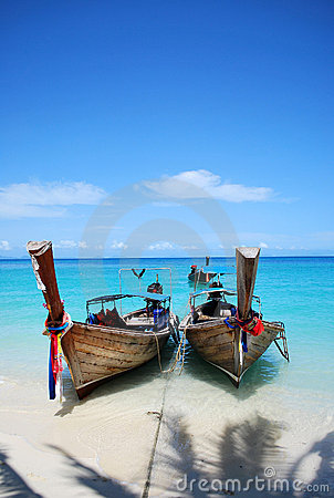 Free Wooden Boats, Thailand Royalty Free Stock Photography - 10746827