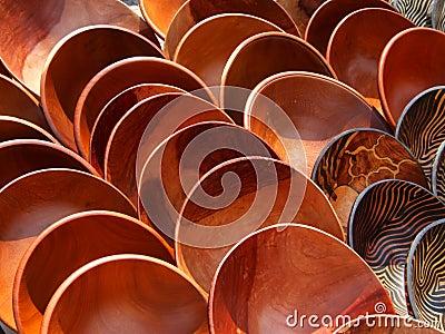 Wooden bowls