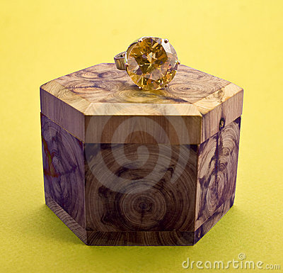 Free Wooden Box Royalty Free Stock Photos - 7672548