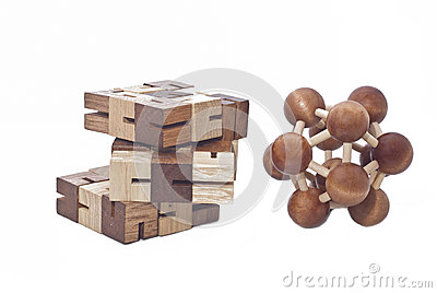 Wooden Brain Teaser