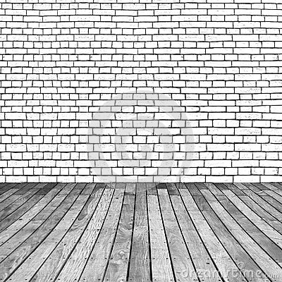 Wooden And Brick Background Royalty Free Stock Photography