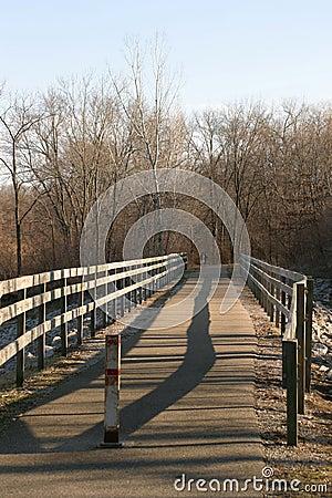 Free Wooden Bridge Royalty Free Stock Photo - 600245