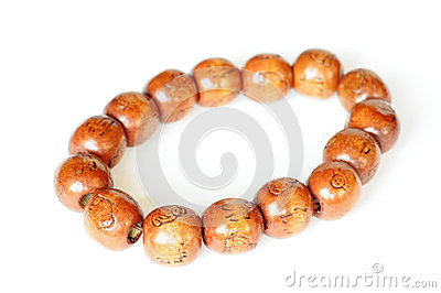 Wooden Buddhist beads