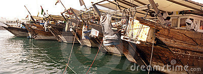 Wooden Cargo Boats