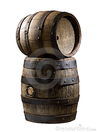 Wooden Cask Stock Images - Image: 12411204