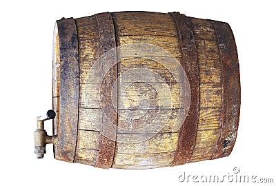 Wooden cask