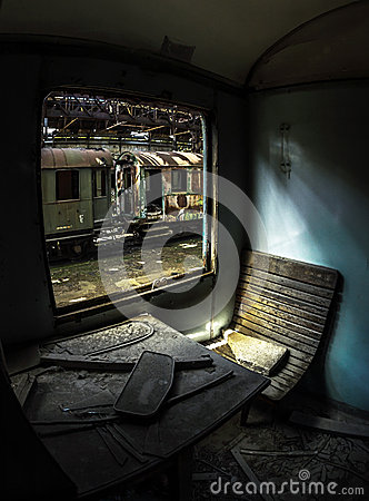 Free Wooden Chair Of A Train Royalty Free Stock Photography - 51109677