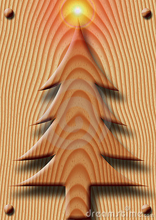 Wooden Christmas