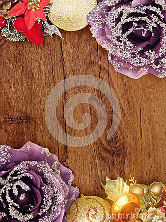 Wooden Christmas Card