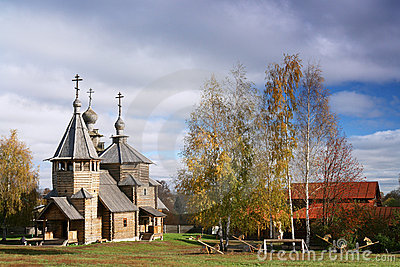 Wooden church of 18 century