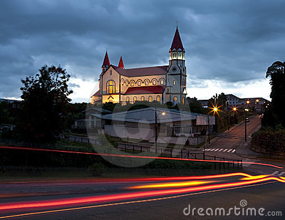 Wooden Church - Puerto Varas - Chile
