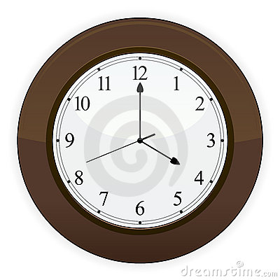 Wooden Clock EPS