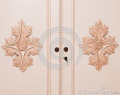 Wooden Closet