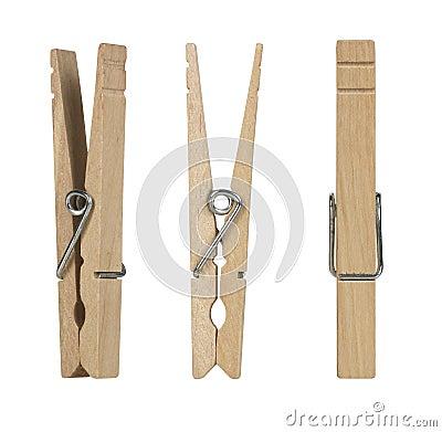 Wooden Clothes Pins