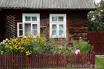 Wooden country house