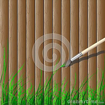Wooden creative