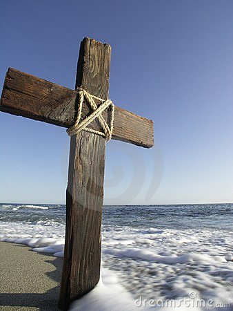 Free Wooden Cross Stock Photography - 1356442