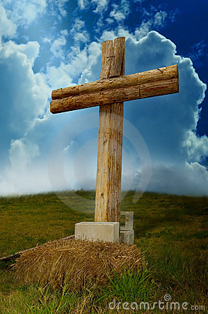 Free Wooden Cross Royalty Free Stock Image - 4780786