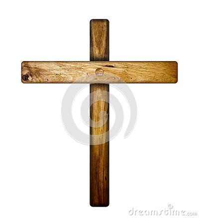 Free Wooden Cross. Royalty Free Stock Images - 56044189
