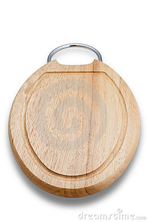Wooden Cutting Board (with Clipping Path)