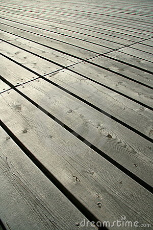 Wooden Deck Close Up Royalty Free Stock Photo - Image: 5619735