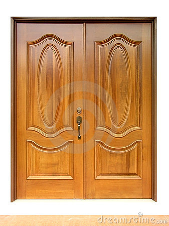 Free Wooden Door Stock Photo - 824340