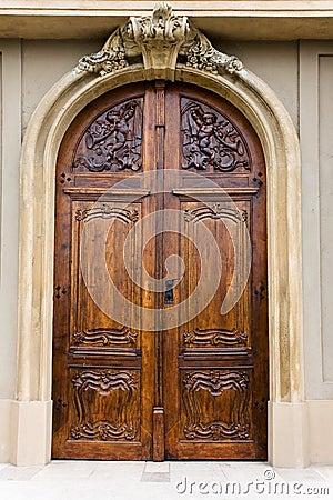 Free Wooden Door Of A Church Stock Photo - 13813190