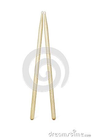 Wooden drumsticks