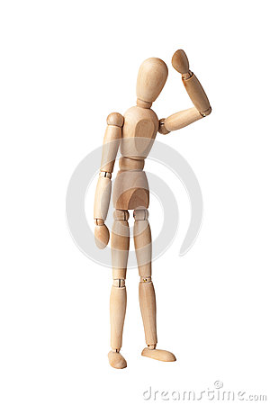 Free Wooden Dummy Royalty Free Stock Photo - 45314395