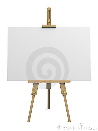 Free Wooden Easel Stock Images - 20370874
