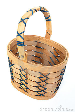 Wooden/Easter basket.