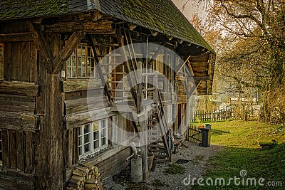 Wooden Farm House Free Public Domain Cc0 Image