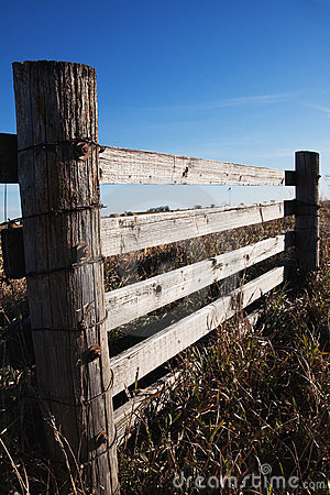 Wooden Farmland Fence