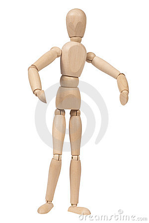 Free Wooden Figure Stock Photo - 17074220
