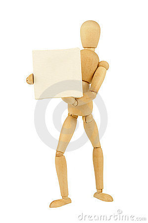 Free Wooden Figurine Royalty Free Stock Photo - 5968715