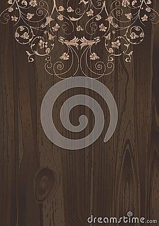 Wooden Floral.