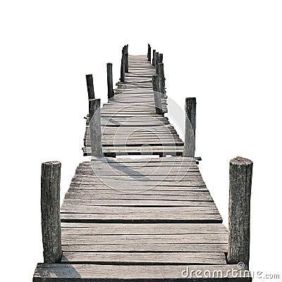Free Wooden Foot Bridge Stock Image - 52043951