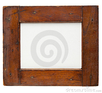 Free Wooden Frame With Canvas Royalty Free Stock Images - 22394159