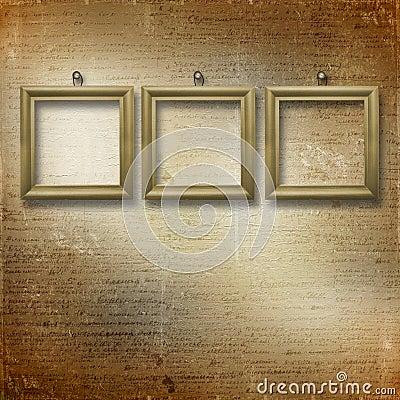 Wooden frameworks for portraiture
