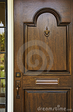 Wooden Front Door