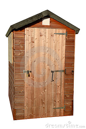 Free Wooden Garden Tool Shed Royalty Free Stock Photo - 4194885