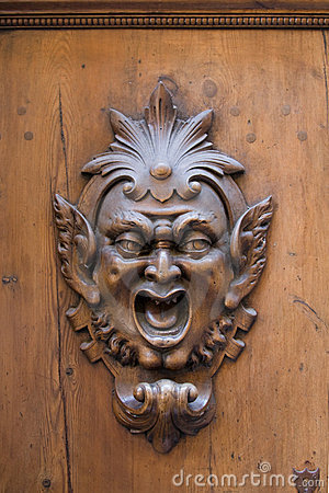 Free Wooden Gargoyle Royalty Free Stock Images - 5998329