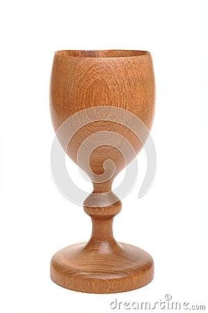 Wooden goblet