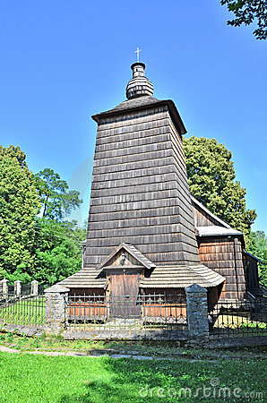 Wooden Greek Catholic church