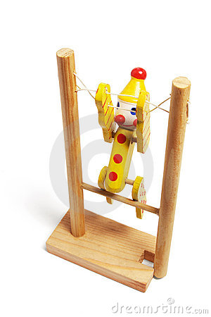 Wooden Gymnastic Toy