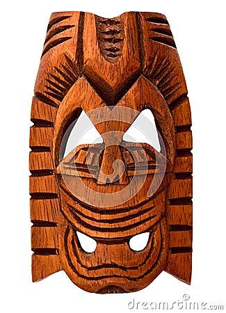 Free Wooden Hawaiian Mask Stock Photo - 17305830