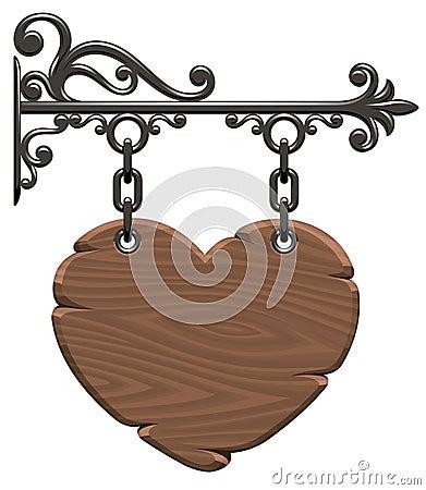 Free Wooden Heart Stock Photo - 7823620