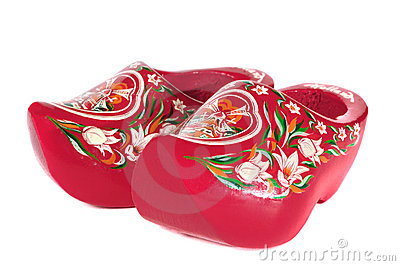 Wooden Holland shoes